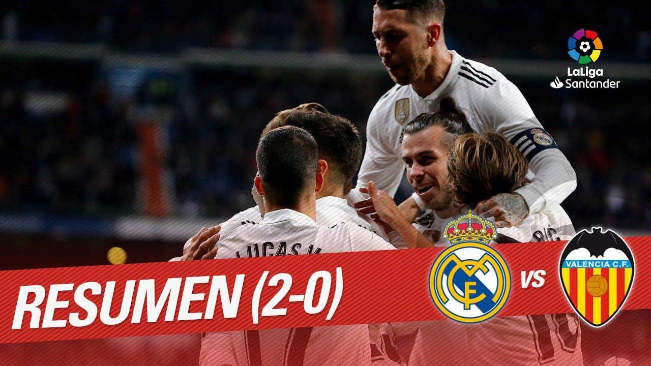 VIDEO: Real Madrid vs Valencia CF 2-0 Goals & Highlights – 2018