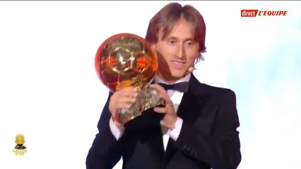 VIDEO: Luka Modric Ballon D'or winner – 2018