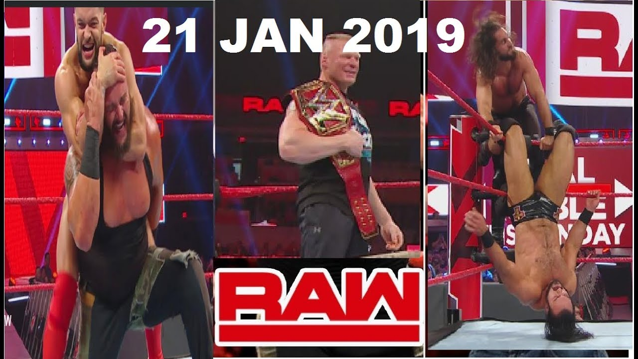 WWE RAW Highlights and Results