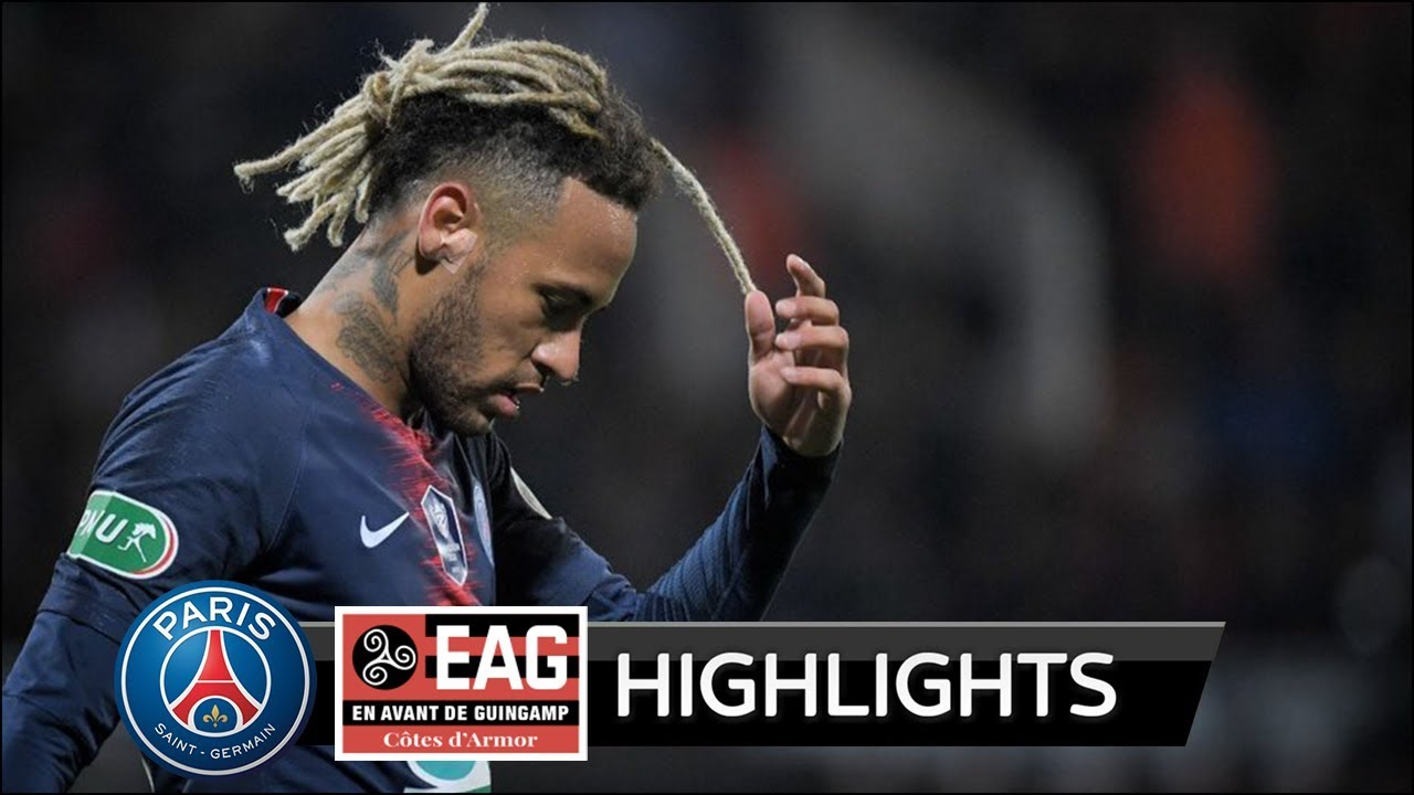 PSG vs Guingamp 1-2 Goals and Highlights