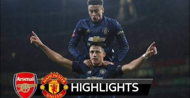 Arsenal Vs Manchester United 1-3 Goals and Highlights - 2019