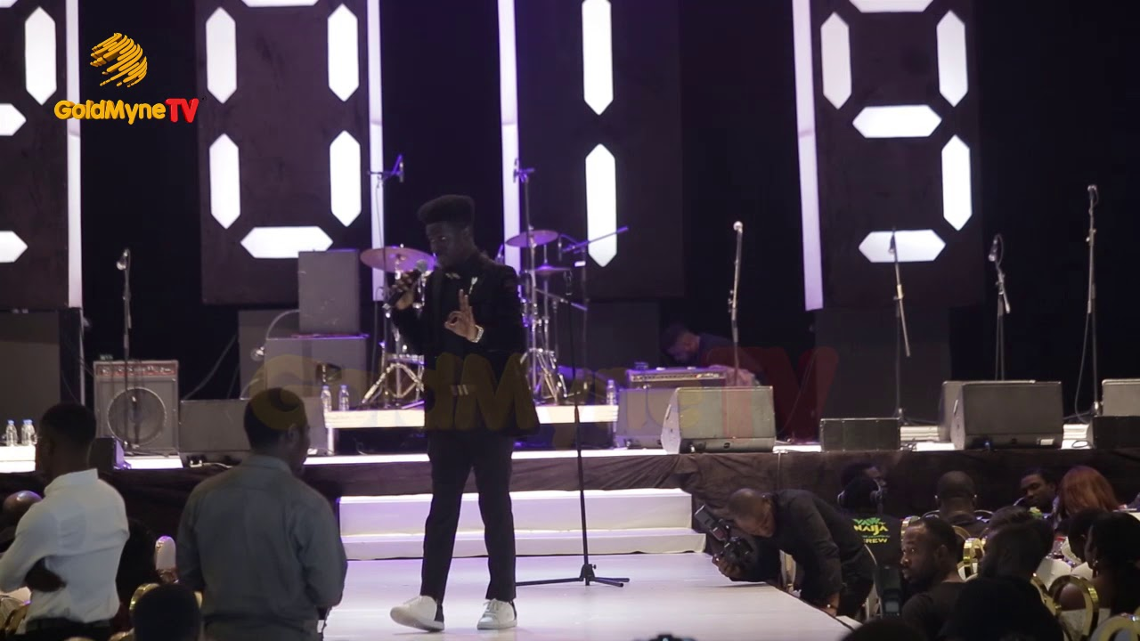 VIDEO: Kenny Blaq Performance At Alibaba's January 1st Concert 2019