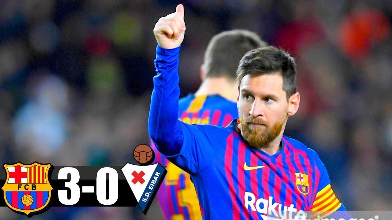 Barcelona vs Eibar Full Highlights