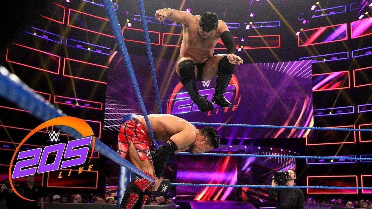 Akira Tozawa vs. Hideo Itami – WWE 205 Live, Jan. 29 2019