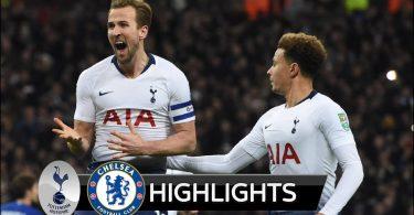 Tottenham Vs Chelsea 1-0 Goals & Highlights