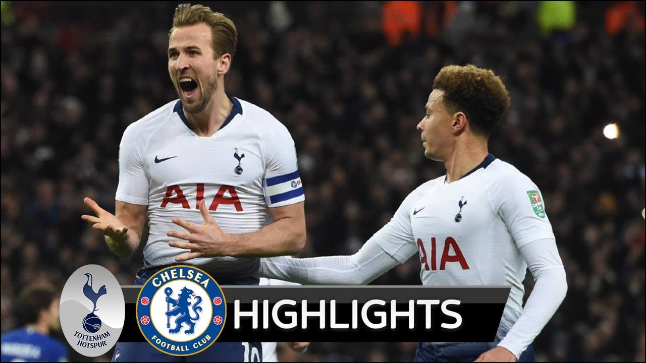 Tottenham Vs Chelsea 1-0 Goals & Highlights
