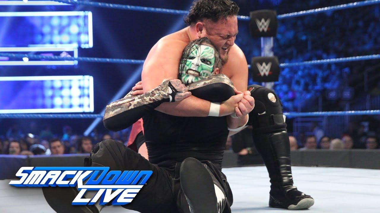 AJ Styles vs. Rey Mysterio
