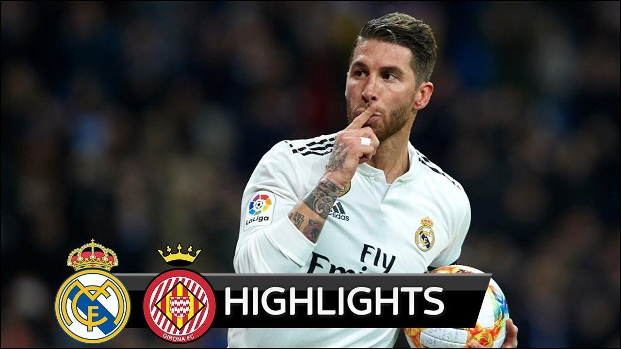 Real Madrid Vs Girona 4-2 Goals & Highlights - 2019