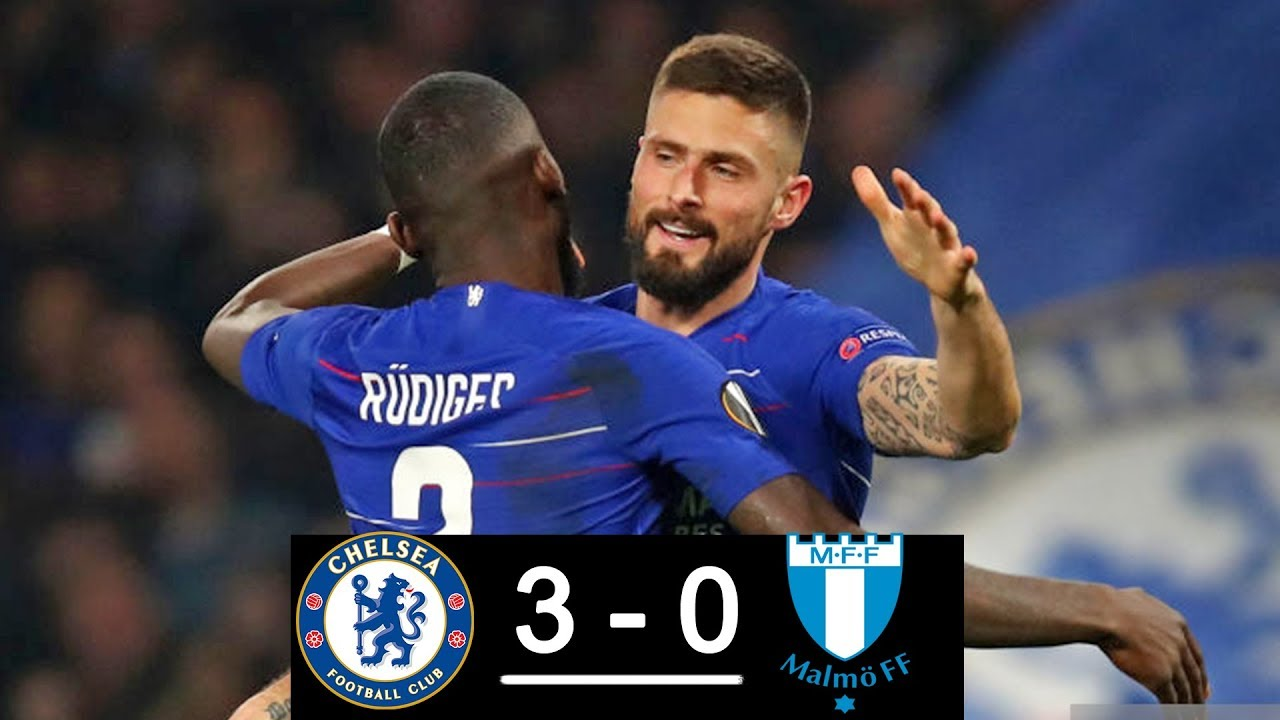 Chelsea vs Malmö FF 3-0 Goals & Full Highlights – 2019