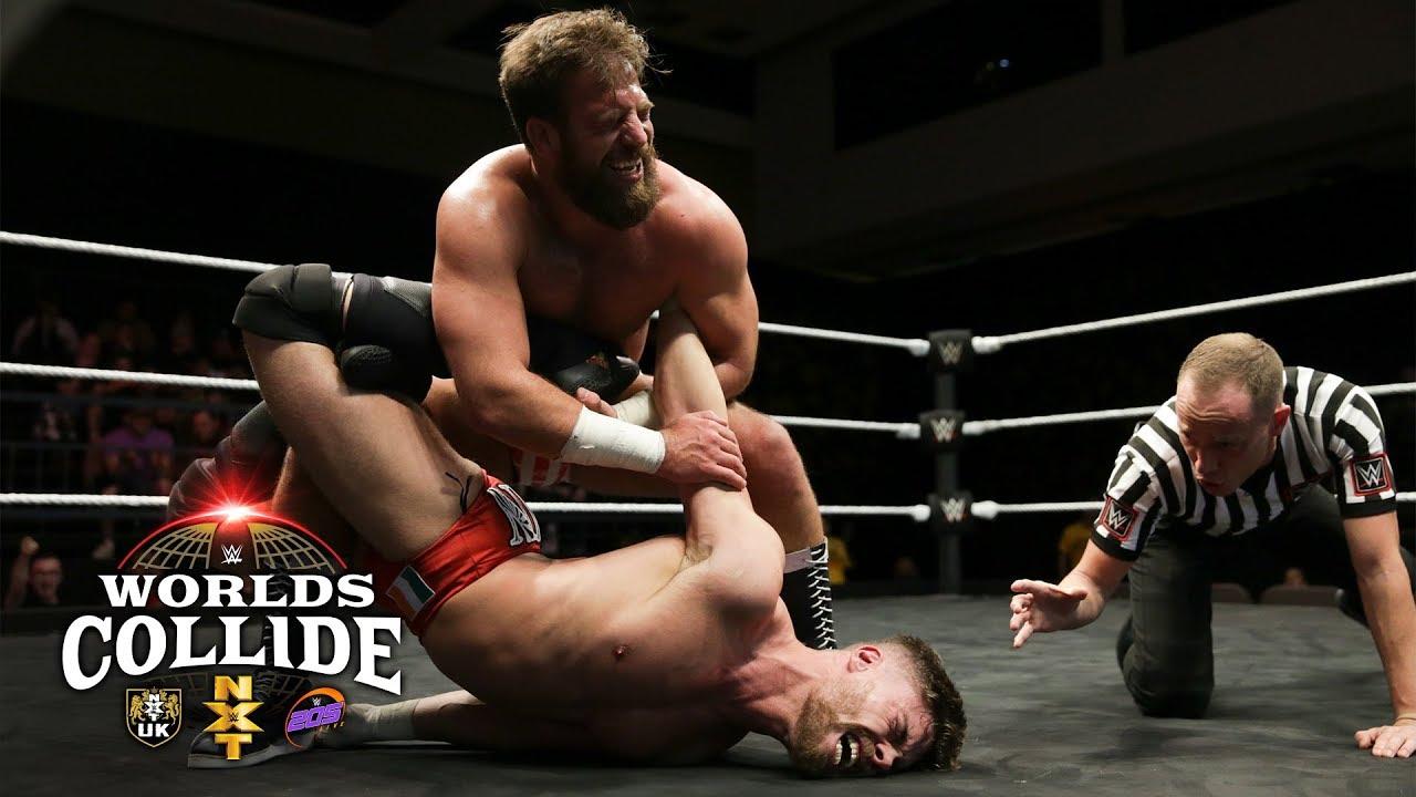 Drew Gulak vs Jordan Devlin – WWE Worlds Collide, Feb. 2 2019