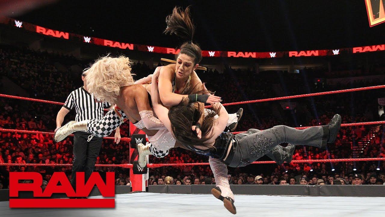 Banks & Bayley vs Fox & Cross vs The B-Team vs The Revival – RAW, Feb. 4 2019