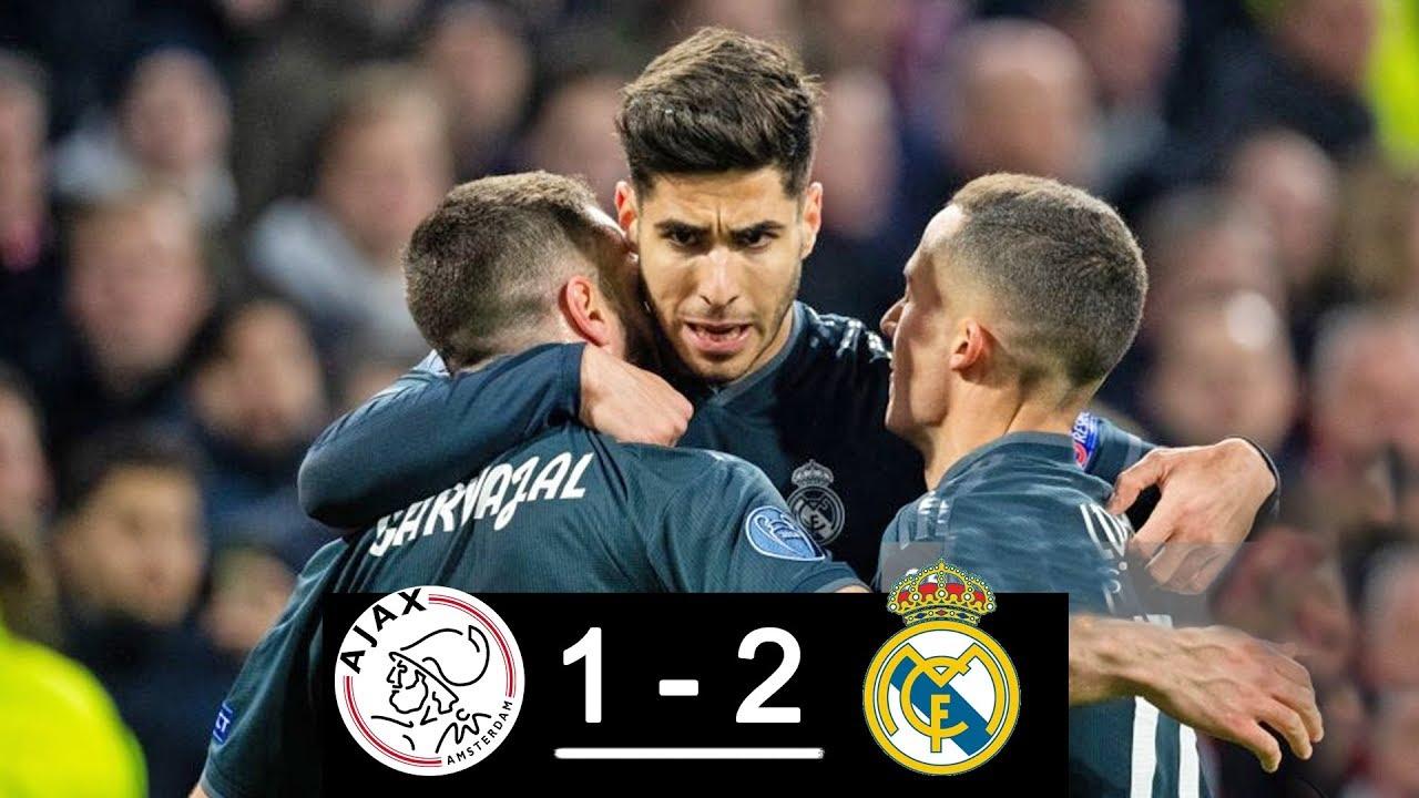 Ajax vs Real Madrid 1-2 Goals & Full Highlights – 2019