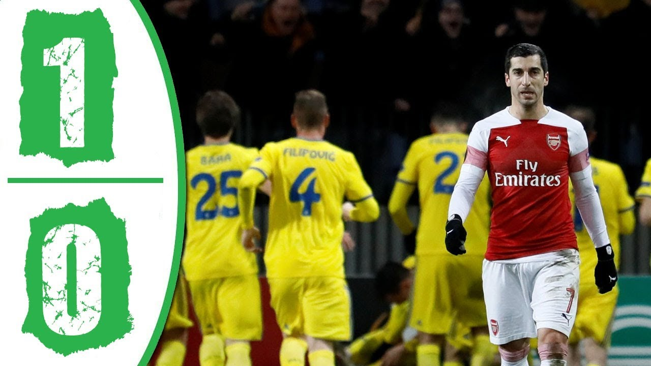 Bate vs Arsenal 1-0