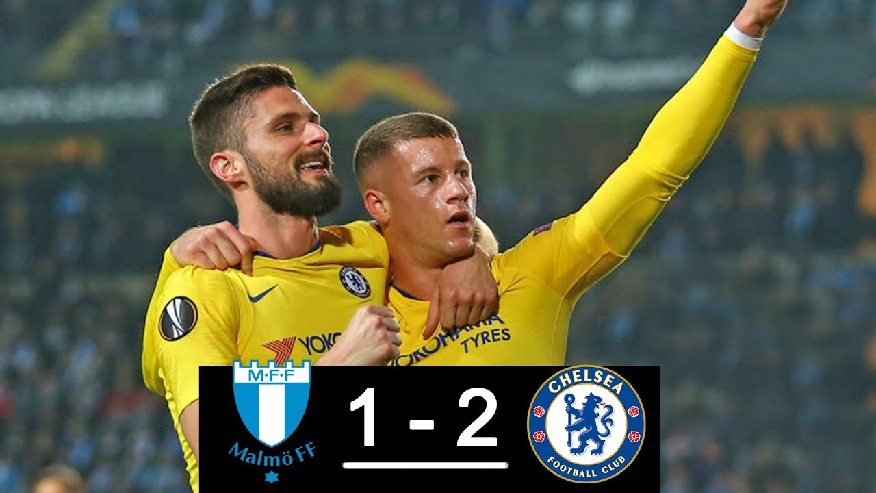 Malmö FF vs Chelsea 1-2 Goals & Full Highlights – 2019