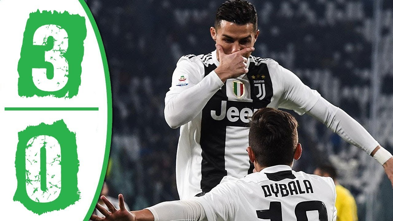 Juventus vs Frosinone 3-0