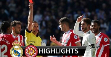 Real Madrid vs Girona 1-2 Goals