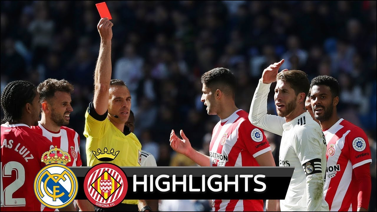 Real Madrid vs Girona 1-2 Goals