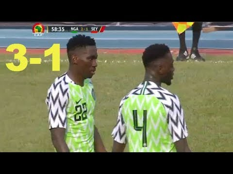 Nigeria vs Seychelles 3-1