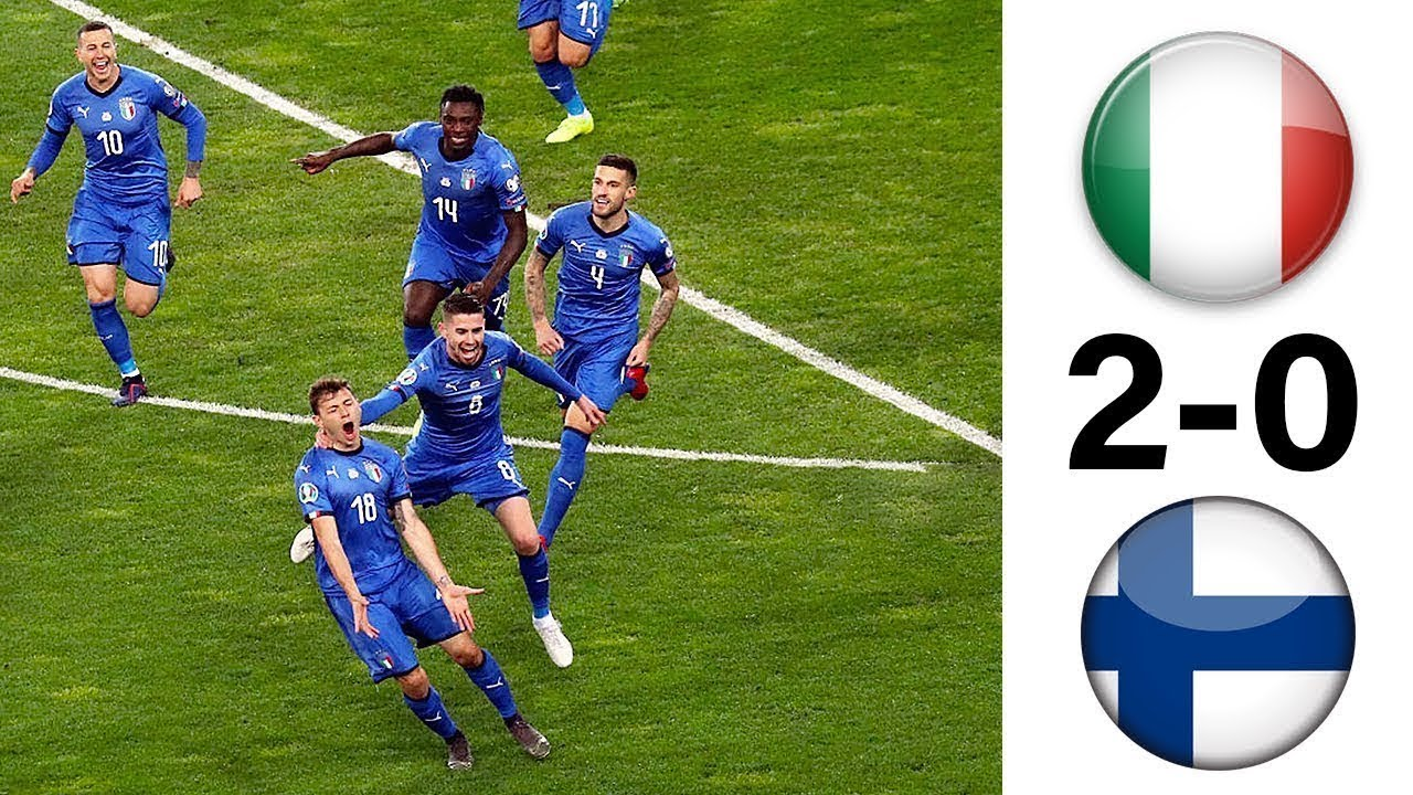 Italy vs Finland 2-0 Goals & Full Highlights – 2019