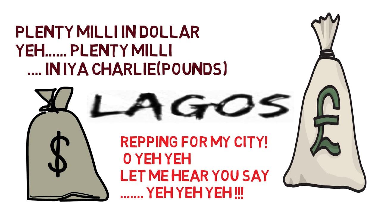 maradona Lagos Life (LYRICS VIDEO)