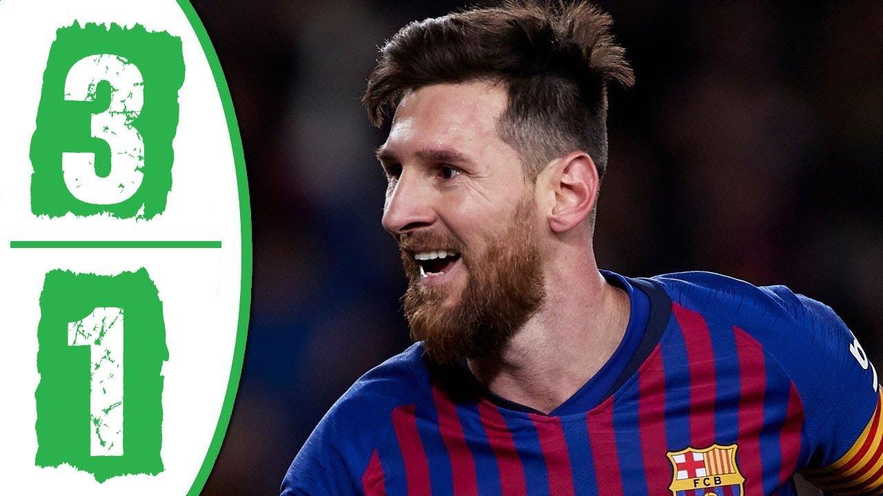 Barcelona vs Rayo Vallecano 3-1 Goals & Full Highlights – 2019