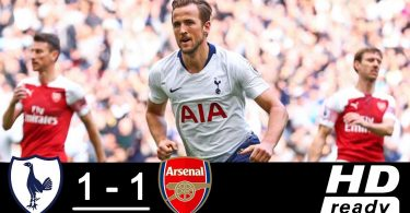 Tottenham vs Arsenal Full Highlights