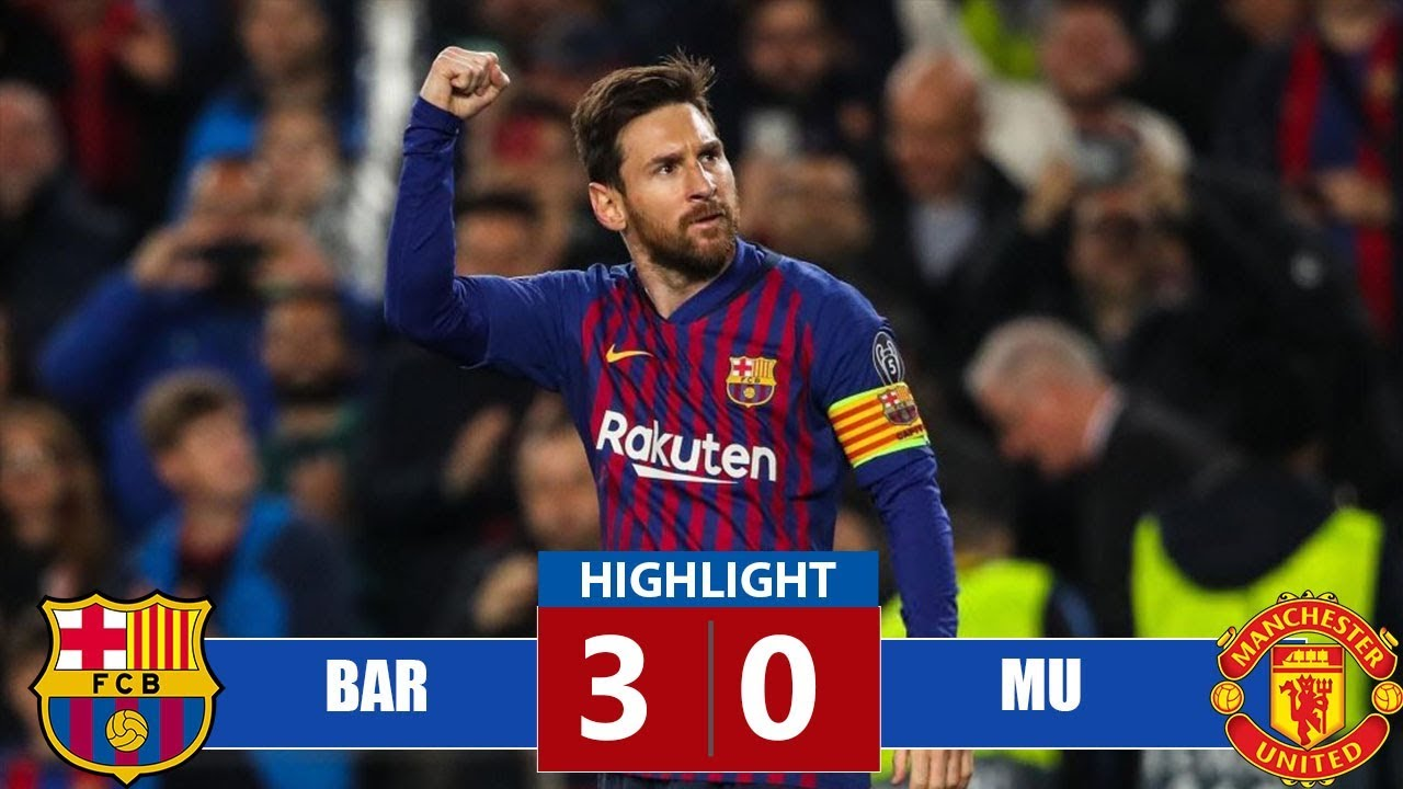 Barcelona vs Manchester United 3-0 Goals & Full Highlights – 2019