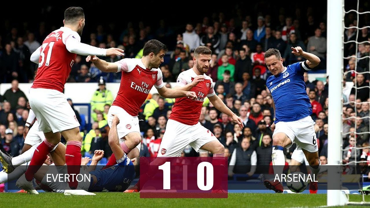 Everton vs Arsenal 1-0 Goals & Full Highlights – 2019