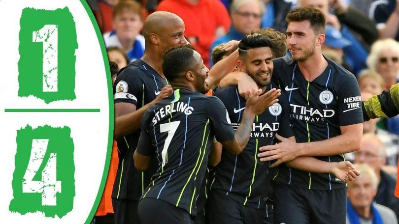 Brighton vs Manchester City 1-4 Goals & Full Highlights ...