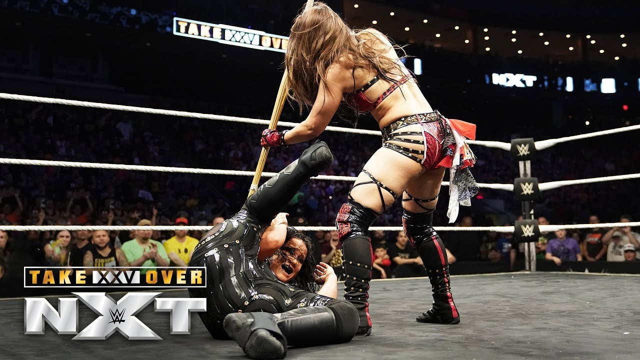 lo shirai unleashes on shayna ba