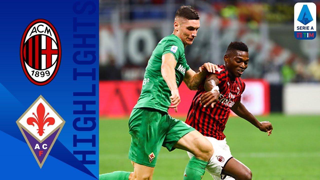 ac milan vs fiorentina 1 3 goals