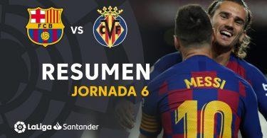 barcelona vs villarreal 2 1 goal