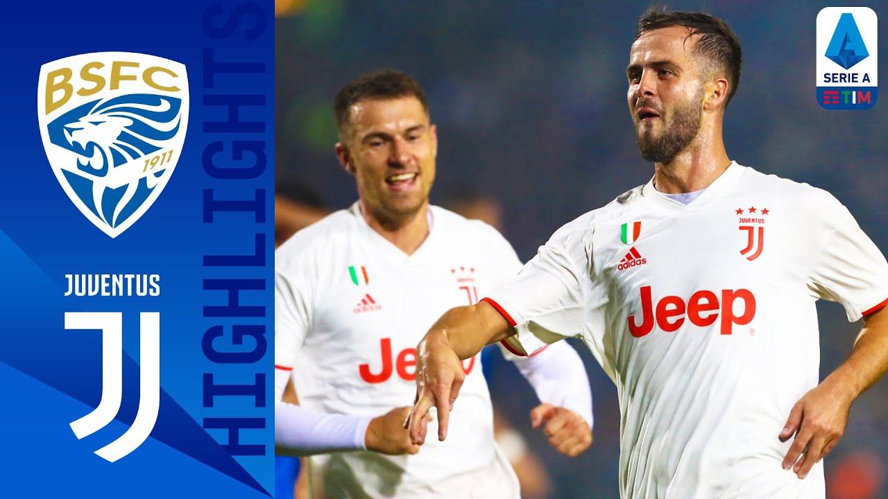 brescia vs juventus 1 2 goals an