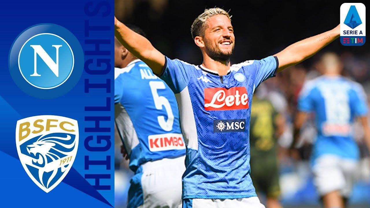 napoli vs brescia 2 1 goals and