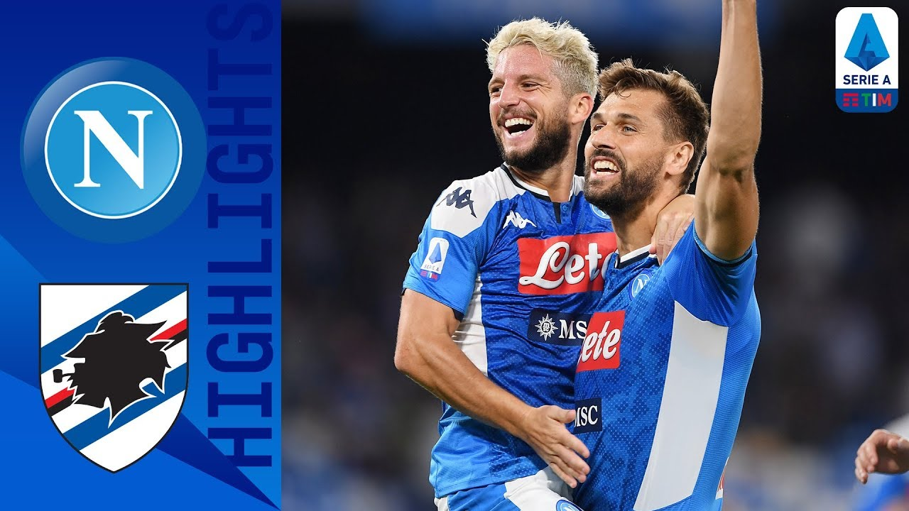 napoli vs sampdoria 2 0 goals an
