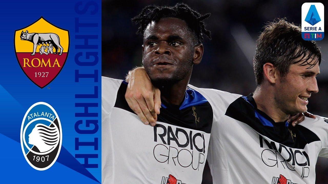 roma vs atalanta 0 2 goals and f