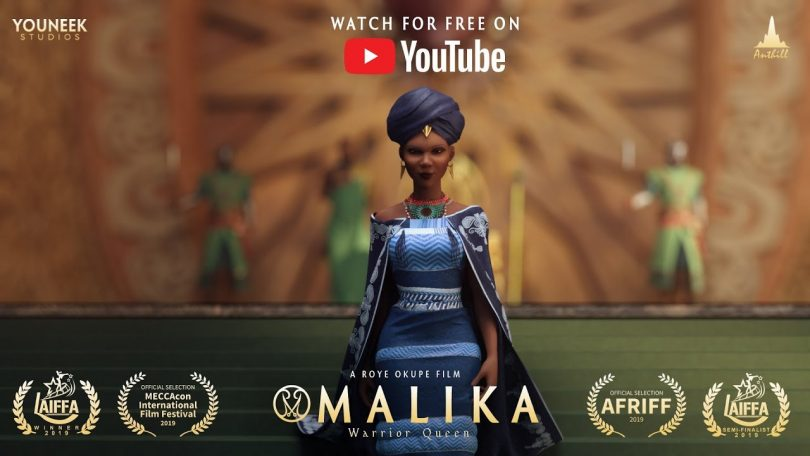 Malika - Warrior Queen Animated Pilot Movie 2019