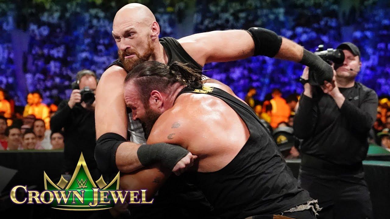 Braun Strowman Vs Tyson Fury Match: WWE Crown Jewel 2019