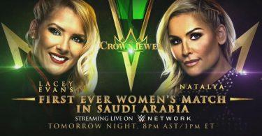 Natalya to Battle Lacey Evans at WWE Crown Jewel