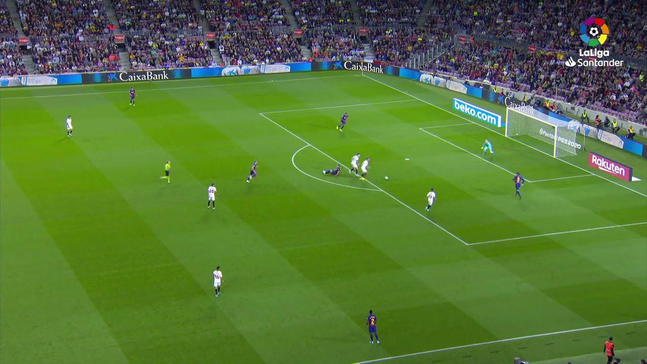 barcelona vs sevilla 4 0 goals a