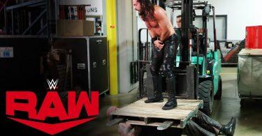 Seth Rollins Attacks Erick Rowan on Raw, Oct 28, 2019
