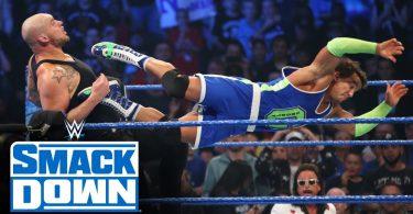 Roman Reigns, Ali & Shorty G vs. King Corbin, Shinsuke Nakamura & Cesaro – SmackDown, Oct. 25, 2019