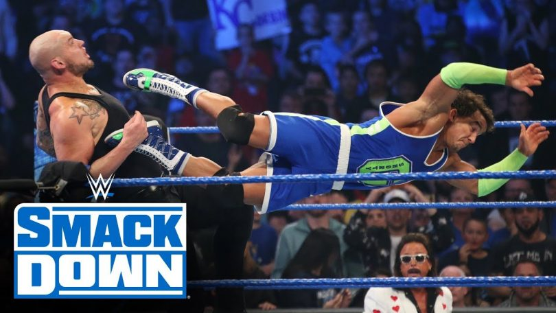 Roman Reigns, Ali & Shorty G vs. King Corbin, Shinsuke Nakamura & Cesaro – SmackDown, Oct. 25, 2019