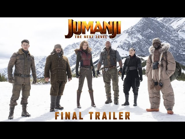 Jumanji: The Next Level Trailer - 2019
