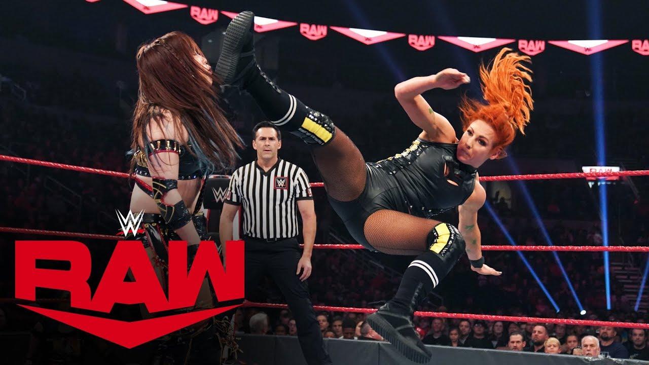 Becky Lynch vs Kairi Sane – WWE Raw, Oct 28, 2019
