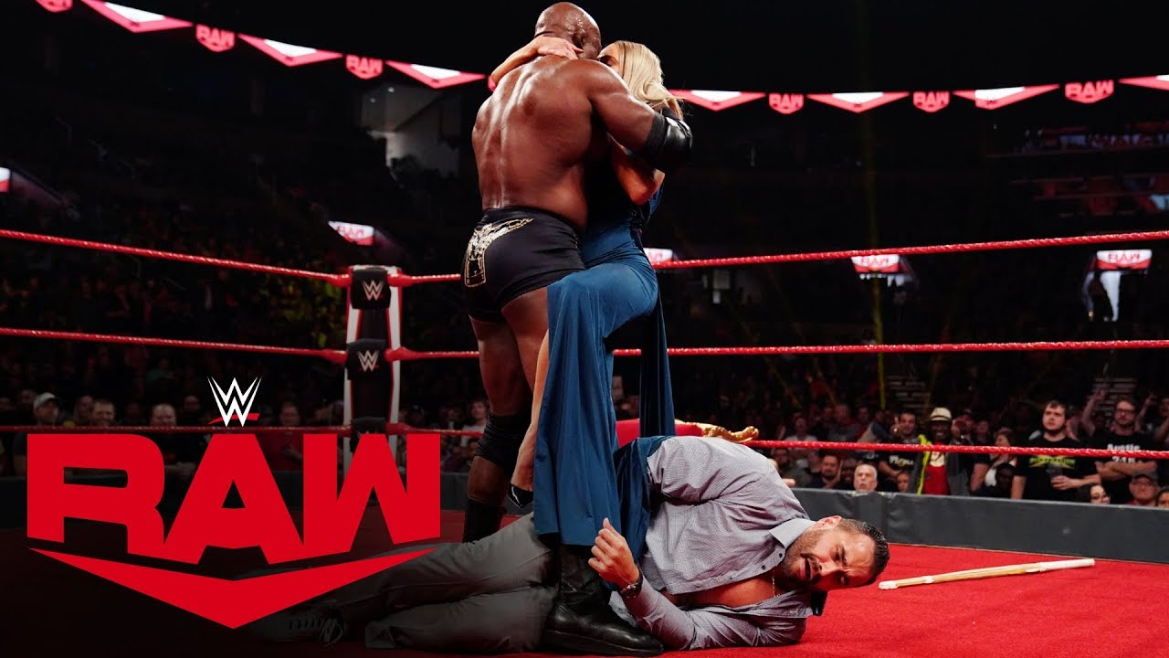 Rusev Attacked by Lana and Bobby Lashley – Raw, Oct 28, 2019