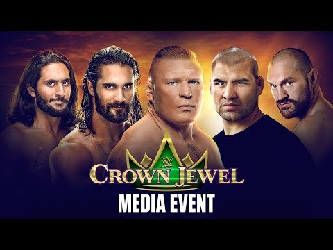 WWE Crown Jewel Media Event - October 31, 2019