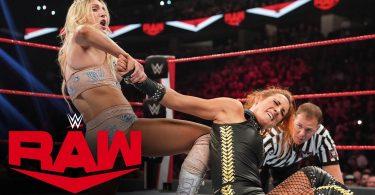Becky Lynch vs Charlotte Flair – RAW, Oct 14, 2019