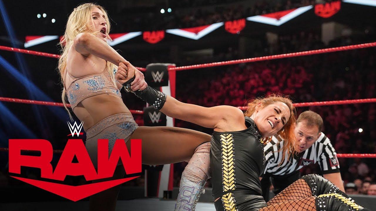 Becky Lynch vs. Charlotte Flair – RAW, Oct 14, 2019