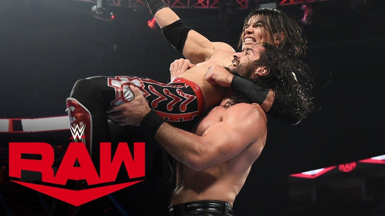 Seth Rollins vs Humberto Carrillo – Raw, Oct 21, 2019
